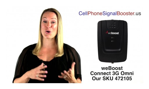 weBoost Connect 3G Omni | weBoost 472105 Cell Phone Signal Booster