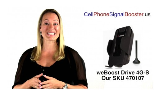 weBoost Drive 4G-S | weBoost 470107 Cell Phone Signal Booster